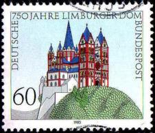 RFA Poste Obl Yv:1082 Mi:1250 Limburger Dom Cathédrale St-Georges (cachet Rond) (Thème) - Chiese E Cattedrali