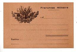 ENTIER POSTAL . CARTE POSTALE . F. M. . FRANCHISE MILITAIRE - Réf. N°799T - - Marcofilie (Brieven)