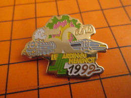 2619 Pin's Pins / Beau Et Rare / THEME TGV / TRAIN A VAPEUR JARDIN DU CHEMINOT 50 ANS - TGV