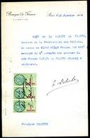 Numismatique - Autographe D'Ernest Pierre DELOCHE (1861-1950) - Graveur D'un Billet - BDF - Billets