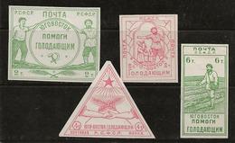 Russie 1922 N° Y&T :  176 à 179 * - Nuevos
