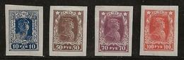 Russie 1922-1923 N° Y&T :  201 à 204 * - 1917-1923 République & République Soviétique