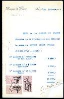 Numismatique - Autographe D'Ernest Pierre DELOCHE (1861-1950) - Graveur De 3 Billets - BDF - INDOCHINE - SYRIE - Sin Clasificación