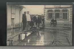 CPA Chalon Sur Saône - Inondations 1910 - Minoteries De Chalon Sur Saône - Non Circulée - Chalon Sur Saone