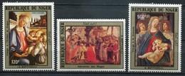 Niger Mi# 872-4 Postfrisch MNH - Paintings - Niger (1960-...)