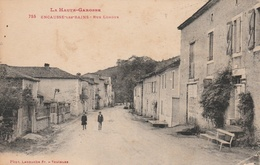 31--ENCAUSSE-LES-BAINS--RUE LONGUE--VOIR SCANNER - Sonstige Gemeinden