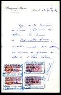 Numismatique - Autographe D'Ernest Pierre DELOCHE (1861-1950) - Graveur D'un Billet - LIBAN - Sin Clasificación