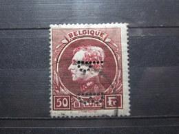 VEND TIMBRE DE BELGIQUE N° 291A , PERFORE !!! - 1929-1941 Big Montenez