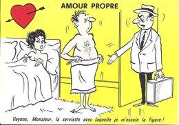 HUMOUR GRIVOIS AMOUR PROPRE ILLUSTRATEUR ALEXANDRE LA SERVIETTE FIGURE - Humor