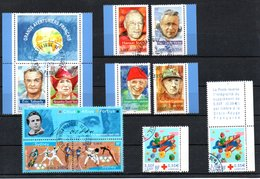 B248 France Oblitéré N° 3340 +3341 + 3341A à 3347 + 3362 (timbres ** + Oblitération Philatélique) - Francia