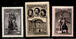 Russia 1957 Mi 1950-52  MNH ** - 1923-1991 USSR