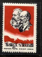 Russia  1965 Mi 3061 MNH **  Karl Marx - 1923-1991 URSS