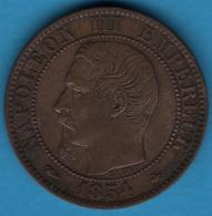 France 5 CENTIMES 1854 BB F.116  NAPOLEON III - France