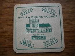 Brasserie Bonne Source  Velaine Sur Sambre - Wanfercee Baulet - Sous-bocks