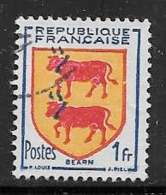 Maury 901 - 1 F Béarn - O - 1941-66 Stemmi E Stendardi