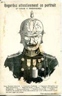 N°3182 T -cpa Regardez Attentivement Ce Portrait - Weltkrieg 1914-18