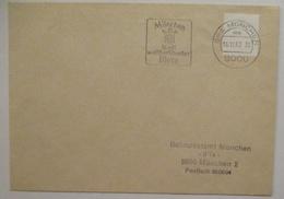 Bund Postautomation Versuchsbrief BPA München 1982 (44177) - [7] République Fédérale