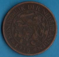 NEDERLANDEN  2½ Cents 1916  KM# 150 Wilhelmina - 2.5 Cent