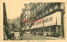 SL 41 BLOIS. Traction Avant Face Au Palais Du Vêtement Rue Papin - Blois