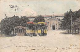 Besançon - La Gare De La Viotte - Tram - Coloriée - Besancon