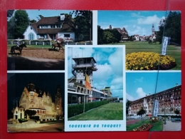 KOV 505-7 - HORSE, CHEVAL, TOUQUET PARIS PLAGE, AEROPORT, WESTMINSTER HOTEL - Paarden