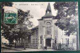 Cp -  Montargis - 45 - École Durzy - Montargis