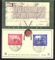 Geallieerde Bezetting / Allierte Besetzung FDC 965 - 966 Card Used (1947) - Amerikaanse, Britse-en Russische Zone