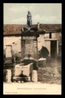 55 - STAINVILLE - FONTAINE NAPOLEON - MARENGO SUR LE FRONTON - CARTE COLORISEE - EDITEUR EUCHERY - Autres Communes