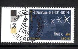 France  2019.Bicentenaire De ESCP Europe.Cachet Rond Gomme D'origine. - Hoekdatums