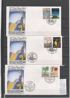 NATIONS-UNIES 1989 10eme ANNIVERSAIRE VIENNE - Emissions Communes New York/Genève/Vienne