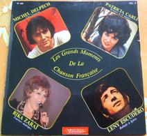 45 Tours VOLUME 4 - GRANDS MOMENTS CHANSON FRANCAISE - DELPECH CARLI ZARAÏ ESCUDERO - Compilations