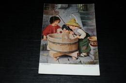 10174           Hermann Kaulbach: Wo Ist Der Fisch? - Children - Enfants - Kinder - Bambinos - Kaulbach, Hermann