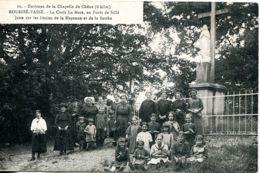 N°3203 T -cpa Rouessé Vassé -la Croix La Mare- En Forêt De Sillé- - Altri Comuni