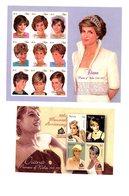 Nevis 2010-2007-1997-Princesse Diana-3 Blocs+1 Série***MNH - St.Kitts-et-Nevis ( 1983-...)
