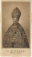 Lotto N. 3 Santini S. Gennaro Con Preghiera Seppia (215-217) - Images Religieuses