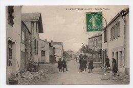 - CPA LA MONTAGNE (44) - Rue Du Fresne (avec Personnages) - Collection Chapeau N° 6 - - La Montagne