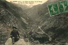 06 - SAORGE - La Vallée Du Cairos, Vue De Saorge. ... - Autres Communes