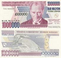 AC - TURKEY - 7th EMISSION 1 000 000 TL T 01 000 171 UNCIRCULATED - Turkije