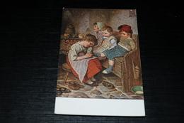10176           H. KAULBACH, DAS HAUSMÜTTERCHEN - Children - Enfants - Kinder - Bambinos - Kaulbach, Hermann