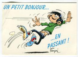 Humour - LAGAFFE Un Petit Bonjour En Passant - Dessin - Bandes Dessinées