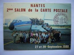 Avion / Airplane / AIR INTER / Caravelle / Seen At Nantes Airport - 1946-....: Era Moderna