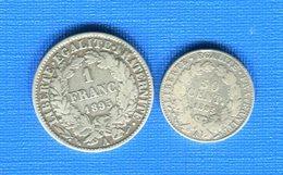 1 Fr  1895 A  + 50 Cents  1895 A - France