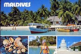 Maldives - Formato Grande Viaggiata – E 14 - Maldive