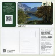National Park Durmitor (UNESCO) Montenegro. With Se-tenant Postcard. Crna Gora. - Tickets D'entrée