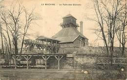 -dpts Div.-ref-AP541- Nièvre - La Machine - Le Puits Des Glenons - Mine - Mines - Mineurs - Ligne Chemin De Fer - - La Machine