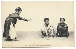 TONKIN-Enfants Jouant Aux Sapèques...   Animé - Vietnam