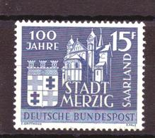 Saarland 401 MNH ** (1957) - 1957-59 Bundesland