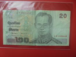 THAILANDE 20 BAHT 2003 CIRCULER - Thailand