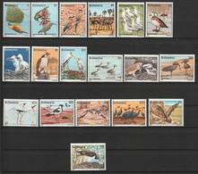 BOTSWANA - N°451/68 ** (1982) OISEAUX / BIRDS - Botswana (1966-...)