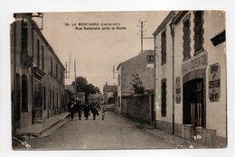 - CPA LA MONTAGNE (44) - Rue Nationale Près La Poste (avec Personnages) - Edition Chapeau N° 28 - - La Montagne
